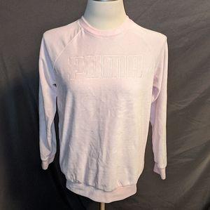 Puma velour sweatshirt